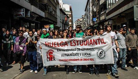 Huelga estudiantes CR